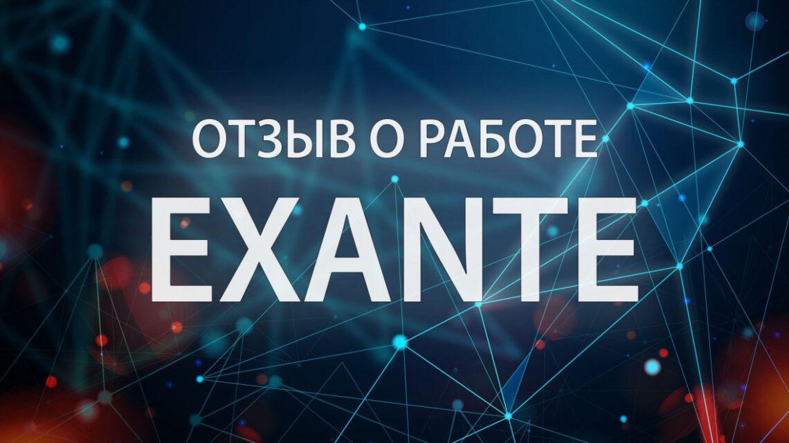 Отзывы о работодателе Exante и выгодных сторонах сотрудничества с компанией
