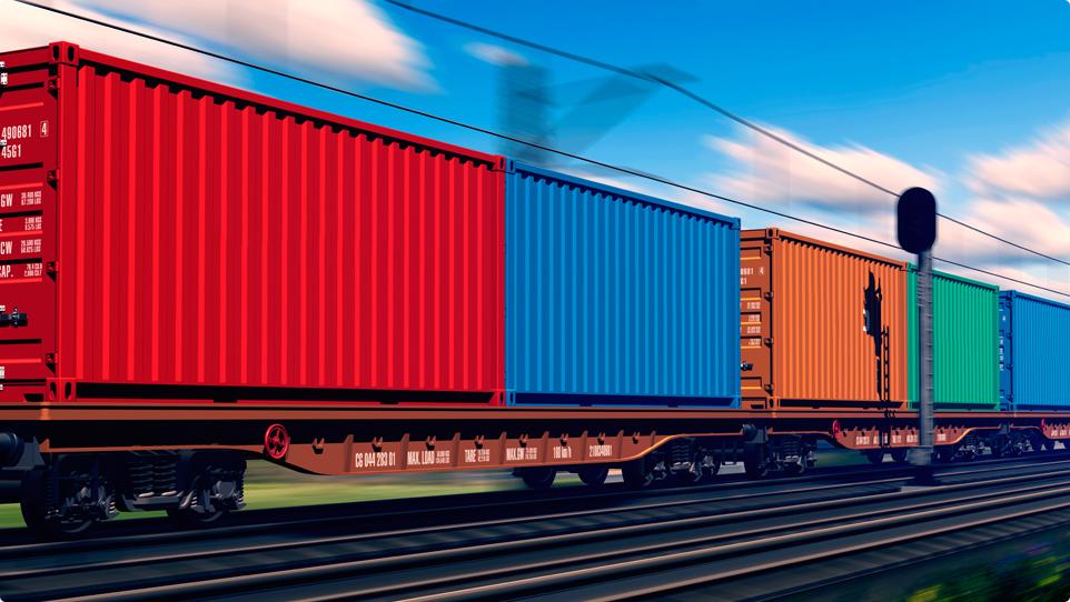 Преимущества ускоренных контейнерных поездов из Китая